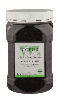 BIOPUR Vegan & Glutenfrei BIO Rote Beete-Flocken  250 g