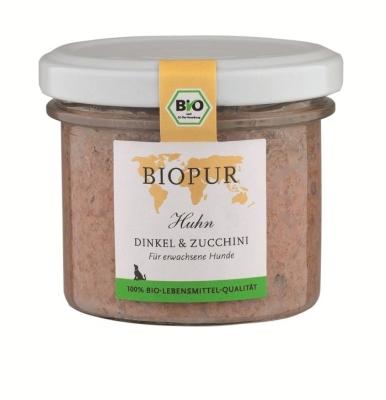 BIOPUR BIO Huhn, Dinkel & Zucchini  100 g, 400 g