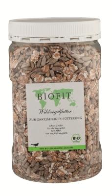 BIOPUR Wildvogelfutter, Bio-Fit Wildvogelfutter  350 g, 2.50 kg