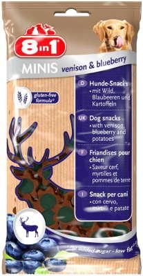 8in1 Minis Hjort & Blåbær Hjort & Bærrene 100 g