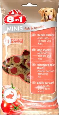 8in1 Minis Fisk & Tomat Fisk & Tomat 100 g