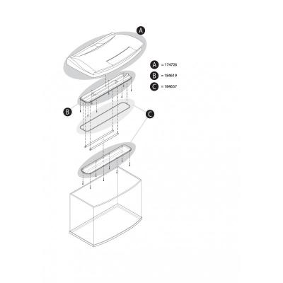 Tetra AquaArt LED Light Element 100 l