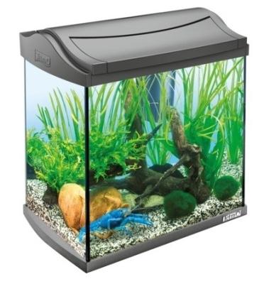 Tetra AquaArt Shrimps Aquarium-Komplett-Set 30 l Schwarz