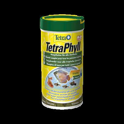 Tetra TetraPhyll  58 ml, 12 g, 250 ml, 52 g, 100 ml, 20 g, 10 l, 2050 g, 1 l, 200 g