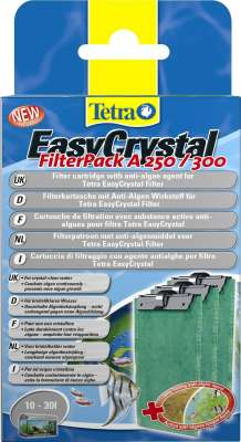 Tetra EasyChrystal FilterPack mit AlgoStop 250/300 10-30L 10-30 l