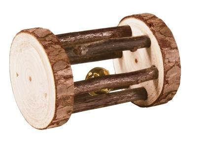 Trixie Natural Living Spielrolle mit Schelle Braun 5 cm