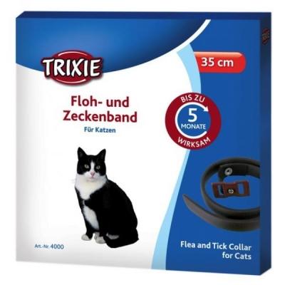 Trixie Collare antipulci e antizecche, per gatti 35 cm
