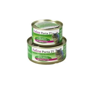 Feline Porta 21 Thunfisch mit Seetang 90 g, 400 g, 156 g, 24x156 g