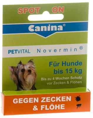 Canina Pharma Petvital Novermin for small dogs 2 ml