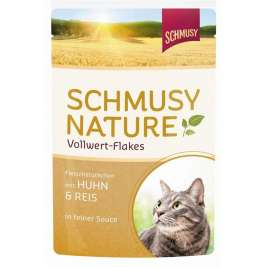 Nature Vollwert Flakes Huhn & Reis Schmusy 4000158700018