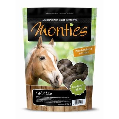 Monties Horse Snack Pressed Licorice sticks  10 kg, 700 g