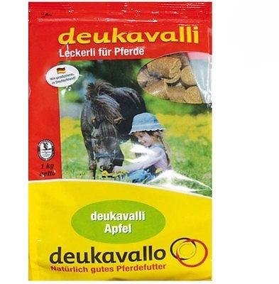 Deukavalli Leckerli für Pferde Deukavalli Apfel  1 kg