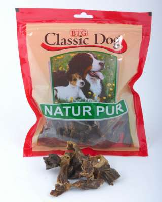 Classic Dog Snack Beef Hearts 100 g