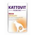 Kattovit Feline Diet Urinary Veau 85 g pas chères