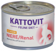 Kattovit Feline Diet Kidney/Renal Chicken (Low Protein) 175 g
