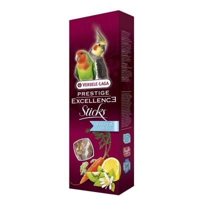 Versele Laga Prestige Sticks Excellence Fruit & Veggies-Großsittiche  120 g