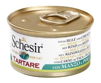Schesir Tartare - naudanliha & kana 85 g