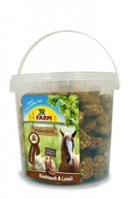 JR Farm Horse Valentinis Knoblauch & Leinöl  1 kg