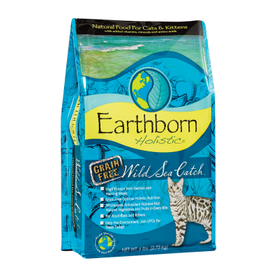 Earthborn Holistic Wild Sea Catch 6.36 kg, 2.20 kg, 120 g