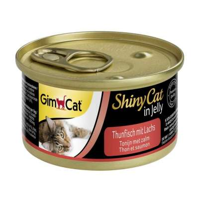 GimCat ShinyCat in Jelly Tonijn + Zalm 70 g