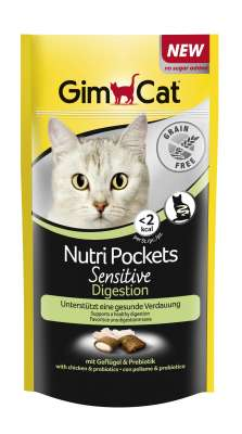 GimCat Nutri Pockets Sensitive Digestion 50 g