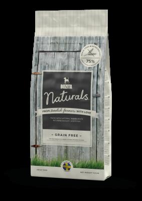 Bozita Naturals Grain Free  11.5 kg, 3.2 kg, 950 g