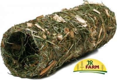 JR Farm Tunnel di Fieno e Legno Naturale - Piccolo 150 g