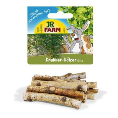 JR Farm Knabber-Hölzer Birke  40 g