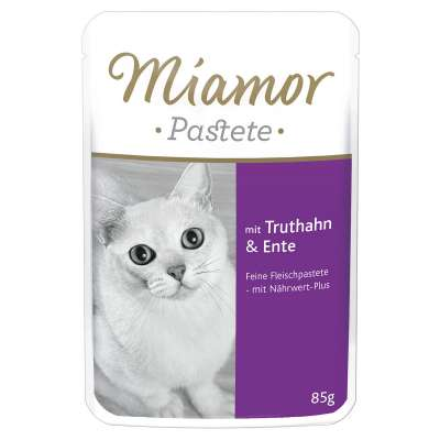 Miamor Paté Buste con Tacchino e Anatra 85 g