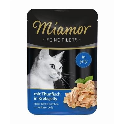 Miamor Feine Filets Thunfisch in Krebsjelly 100 g