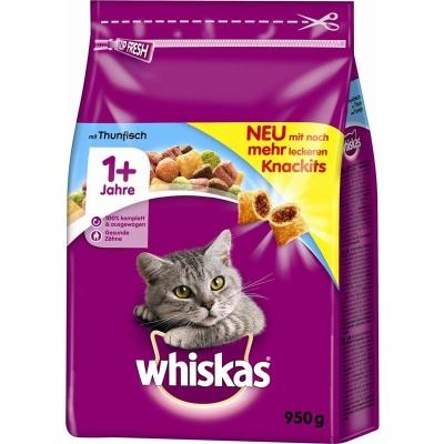 Whiskas 1+ Tonijn 800 g, 1.9 kg, 950 g, 350 g, 3.8 kg