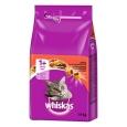 Whiskas 1+ Oksekjøtt 1.9 kg - Kattemat uten kylling