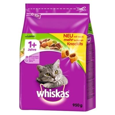 Whiskas 1+ Lam 14 kg, 1.4 kg, 350 g, 950 g, 3.8 kg, 800 g, 1.9 kg, 300 g