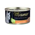 Feine Filets Naturelle im eigenen Saft Huhn & Kürbis 80 g von Miamor