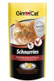 Veel klanten kopen met GimCat Schnurries kip