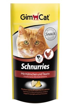 GimCat Schnurries kip Kip 40 g