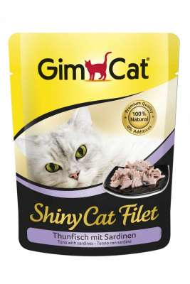 GimCat ShinyCat Filet tonijn met sardines 70 g