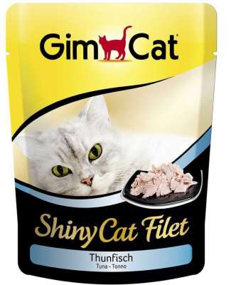 GimCat ShinyCat Filet tonijn 70 g