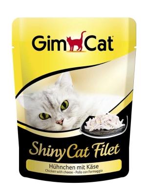 GimCat ShinyCat Filet kip met kaas 70 g