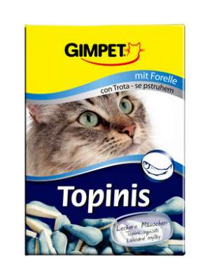 GimPet Topinis mit Forelle 75 St. Forelle