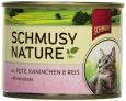 Schmusy Nature´s Menü Pute & Kaninchen  190 g