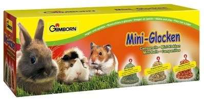 Gimborn Mini - Glocken 3 Stück  3Stück