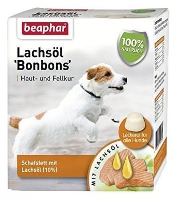 """Beaphar Salmon Oil """"Bon-Bons"""" Σολομός 245 g"""