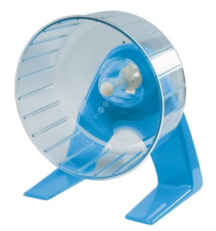Ferplast Hamsterrad Plastik mit Ständer 14 cm