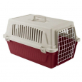 Ferplast Atlas 20 con Almohadilla Burdeos - Transportines pequeños para perros