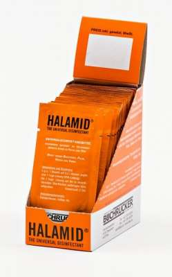 Happy Horse Halamid Disinfection Counter Display 20x500 ml