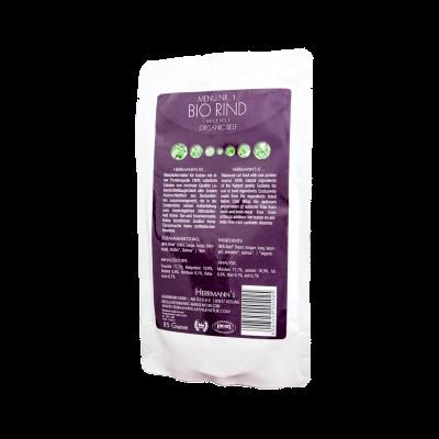 Herrmann's  Bio Rind mit Quinoa 22x85 g