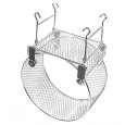 EBI Metall-Laufrad M-L Silber