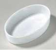EBI Keramiknapf oval XL Weiß