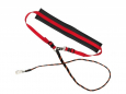 Europet-Bernina Sports Club Jogging Leash, Elastic Rød